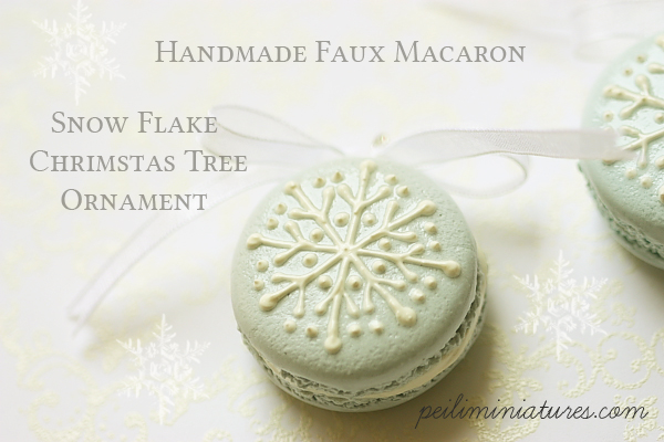 This ... & Holiday Home Ideas - Faux Christmas Macarons Decorations