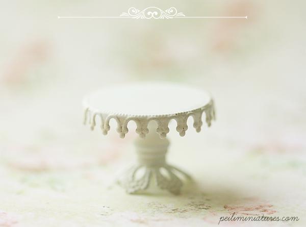 Miniature Lace Cake Stand