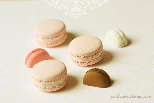 Fake Pink Macarons