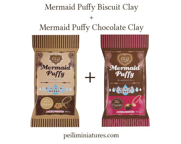 Mermaid Puffy Clay Bundle Sale