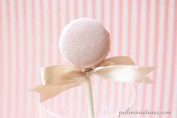 Clay Dessert  Food Prop - Macaron Pop