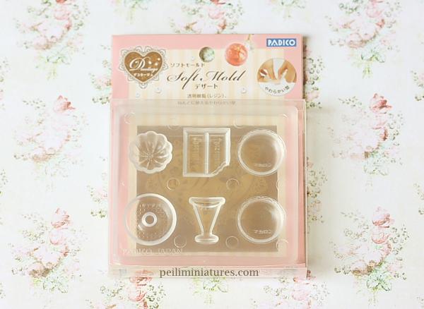 Miniature Soft Mold - Bundt Cake Macaron Donut Mold