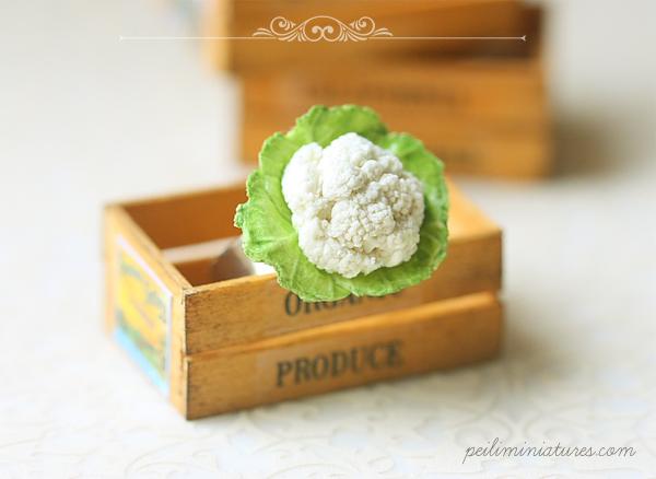 Vegan Jewelry Cauliflower Art Ring