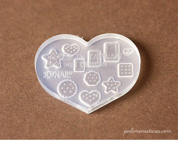 Assorted Cookies Dollhouse Miniature Mold