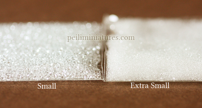 Fake Crushed Ice for Miniature Clay Food - SMALL-
