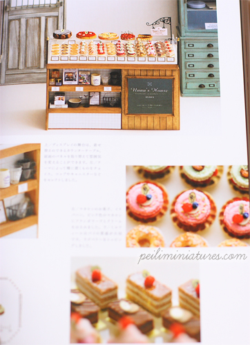 Japanese Craft Book - Create Dollhouse Miniature Food by NuNu II-japanese craft book, air dry clay book, fake sweets
