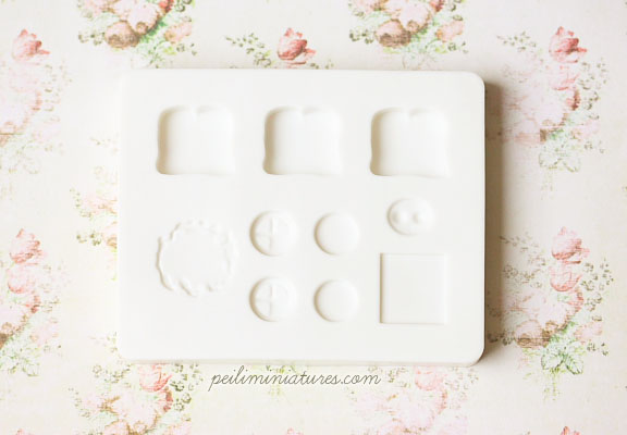 Miniature Food Mold - Sandwich Mold - Air Dry Clay Mold