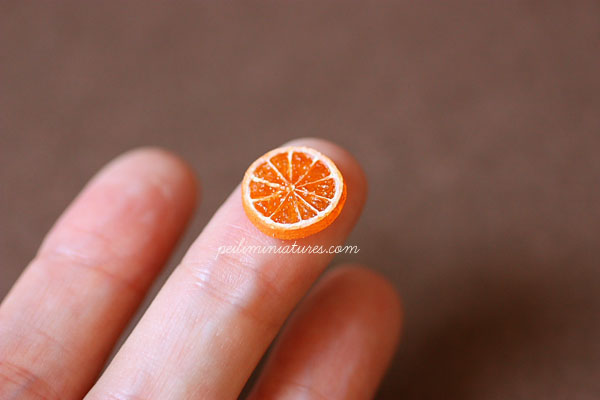 Miniature Orange Slice Mold