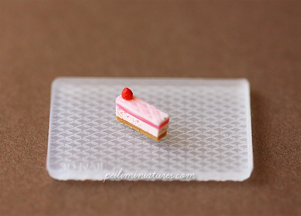 Dollhouse Miniature Pattern Silicon Mold 2 - Cake Decoration Mold