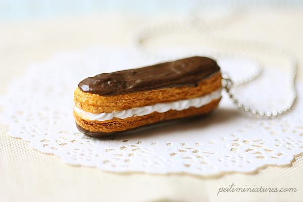 Eclair Jewelry - Dessert Jewelry