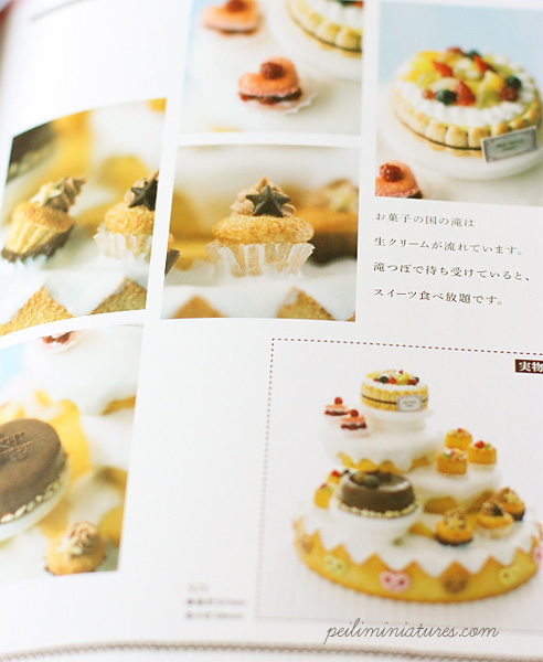 Food Miniatures Book - Miniature Sen Hana Sweets World