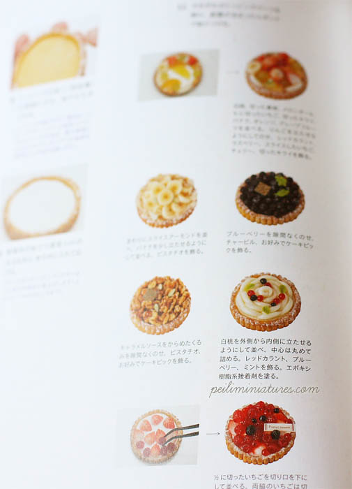Food Miniatures Craft Book - Make Miniature Gateau