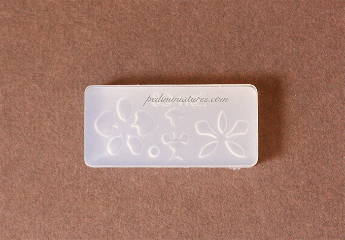 Miniature Orchid Flower Mold