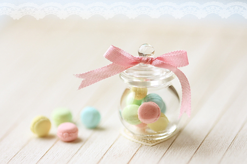 Dollhouse Miniature Food - Soft Pastel French Macarons