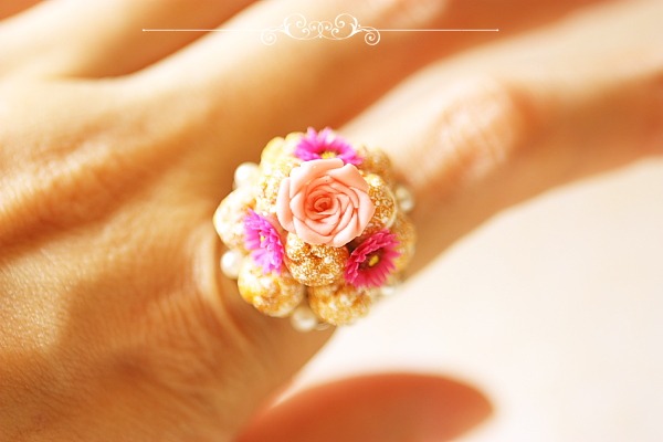 Food Jewelry - Profiteroles Ring
