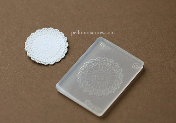 Doily Mold - Silicone Lace Mold