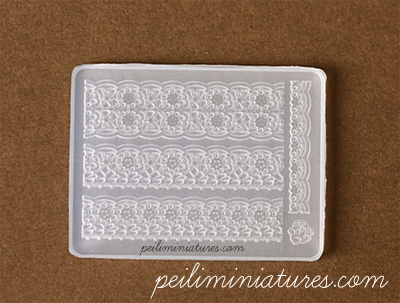 Palace Lace Mold - Silicone Lace Mold
