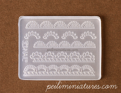 Pearl Lace Mold - Silicone Lace Mold