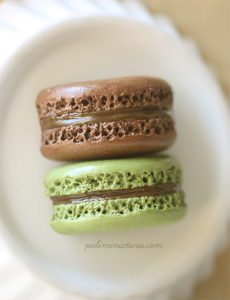 Food Magnet - Green Tea Matcha and Chocolate