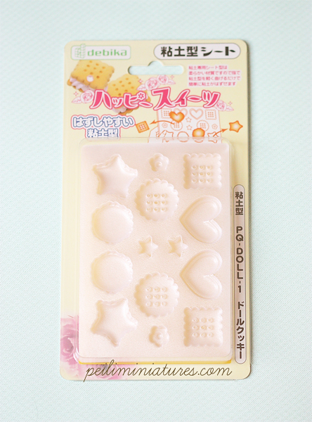 Clay Mold - Miniature Cookies and Macaron Mold