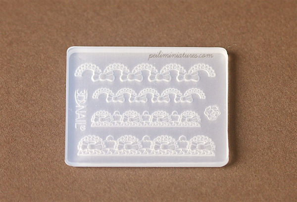 Small Bow Lace Mold - Silicone Lace Mold