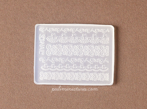 Princess Chantilly Lace Mold - Silicone Lace Mold