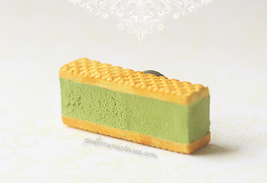 Ice Cream Magnet - Green Tea Matcha-ice cream magnet