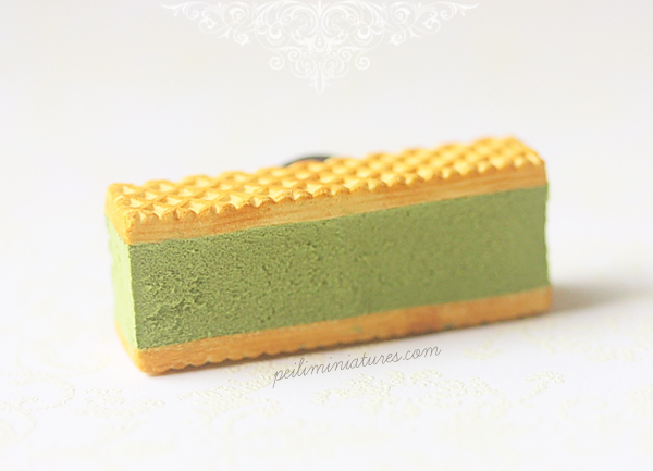 Ice Cream Magnet - Green Tea Matcha
