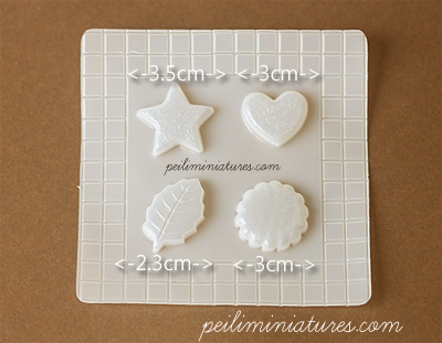 Decoden Mold - Cookies Mold - Miniature Food Mold