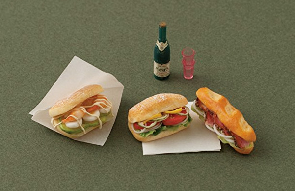 Food Miniatures Book - How To Make Clay Sandwiches