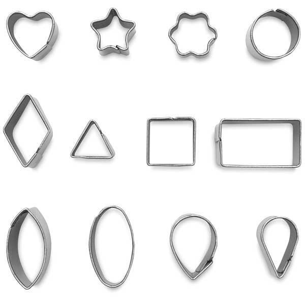 Miniature Metal Clay Cutters