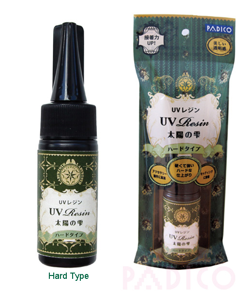 UV Resin - Hard Type - For Making Transparent Jewelry-uv resin, padico resin