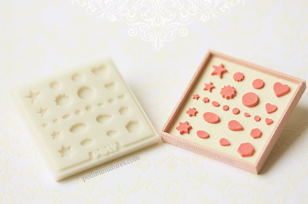 Miniature Clay Mold - Essential Shapes Collection-miniature clay mold, air dry clay mold