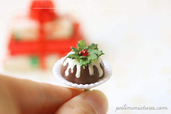 Christmas Ring - Christmas Bundt Cake Jewelry-christmas ring, christmas bundt cake ring, christmas jewelry
