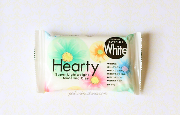 Hearty Clay (White) - Extra Light Weight Modelling Clay-hearty clay, air dried modelling clay, air dry clay, lightweight clay