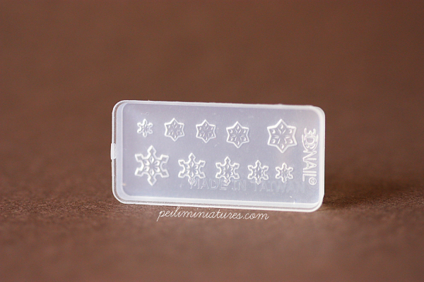Christmas Design Snowflake Miniature Mold