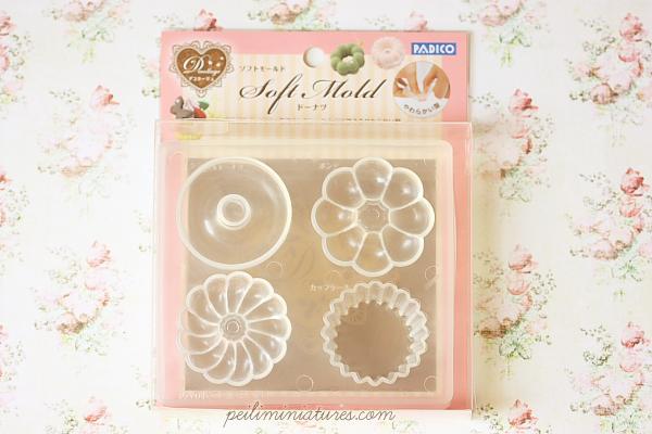 Miniature Soft Mold - Donut Cupcake Mold-donut mold, cupcake mold, uv resin mold, soft mold