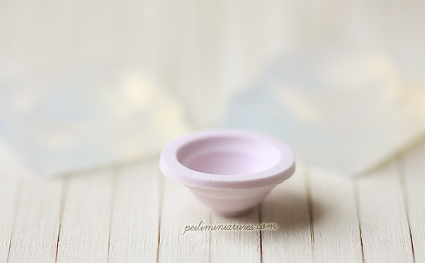 Miniature Clay Mold Push Mold for Deep Bowl - MEDIUM-deep bowl mold, clay bowl mold,
