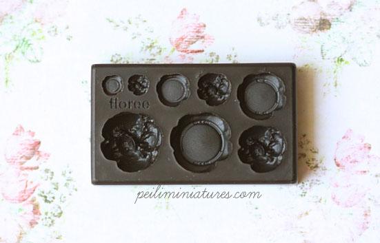 Dollhouse Miniature Cream Puff Mold - Profiterole Mold-