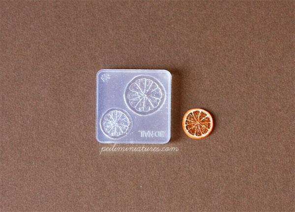 Miniature Orange Slice Mold-Miniature Orange Slice Mold,