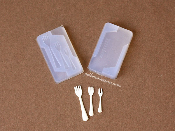 Miniature Clay Mold Push Mold for Fork