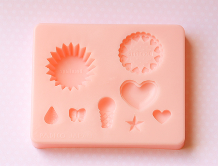 Decollage Clay Mold-Decollage Tart Mold, Decollage clay mold