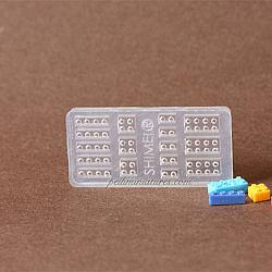 Dollhouse Miniature Lego Brick Mold
