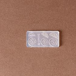 Miniature Lemon Slice Lemon Wedge Mold - Resin Mold