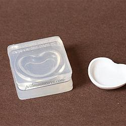 Miniature Dish Mold - Heart Shape Dish Mold