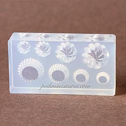 Dollhouse Miniature Cupcake Base and Piped Cream Mold