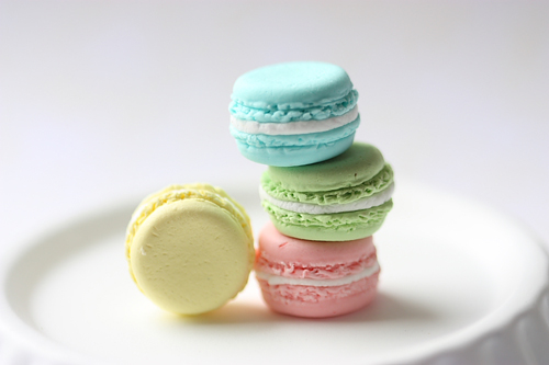 Pastel Jewelry - French Macaron Ring (Candy Drop Series)-pastel colour, french macaron rings, food jewelry, pastel jewelry