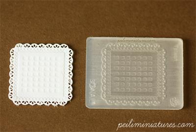 Doily Mold - Square Mold - Silicone Lace Mold-doily mold, square doily mold, silicone lace mold