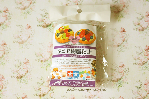 Decoden Clay - Tamiya Clay - Resin Clay