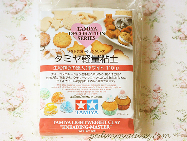 Decoden Clay - Tamiya Clay - Lightweight Clay-decoden clay, tamiya clay, lightweight clay